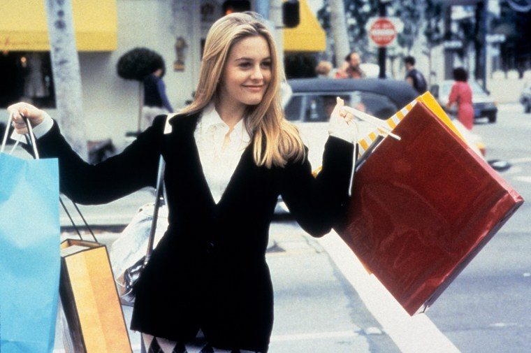 Alicia Silverstone in the movie 'Clueless', 1995