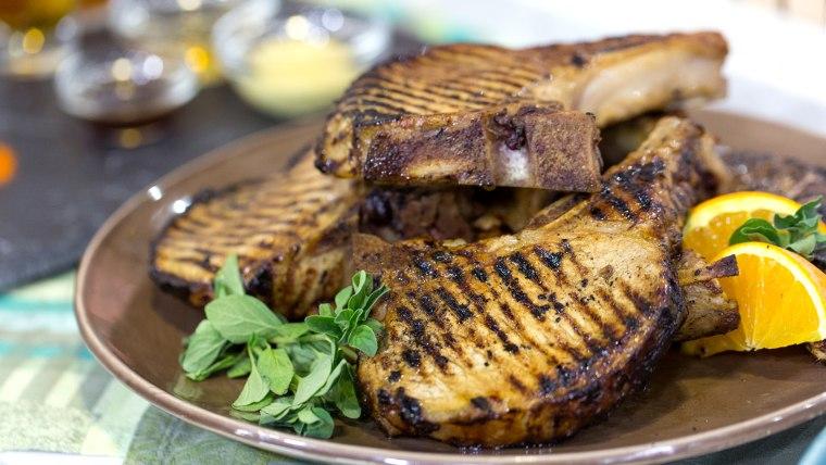 Brandi Milloy makes marinade for summer grilling