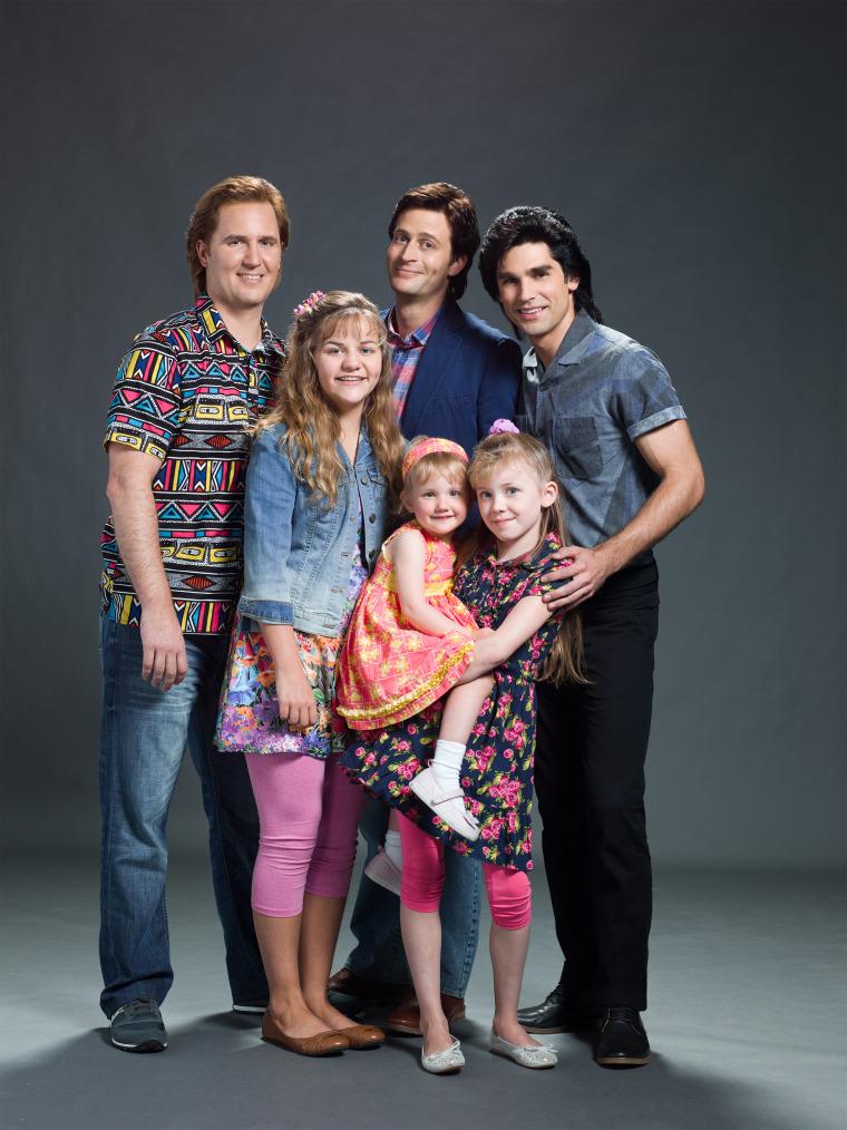 'Unauthorized Full House Story' cast photo