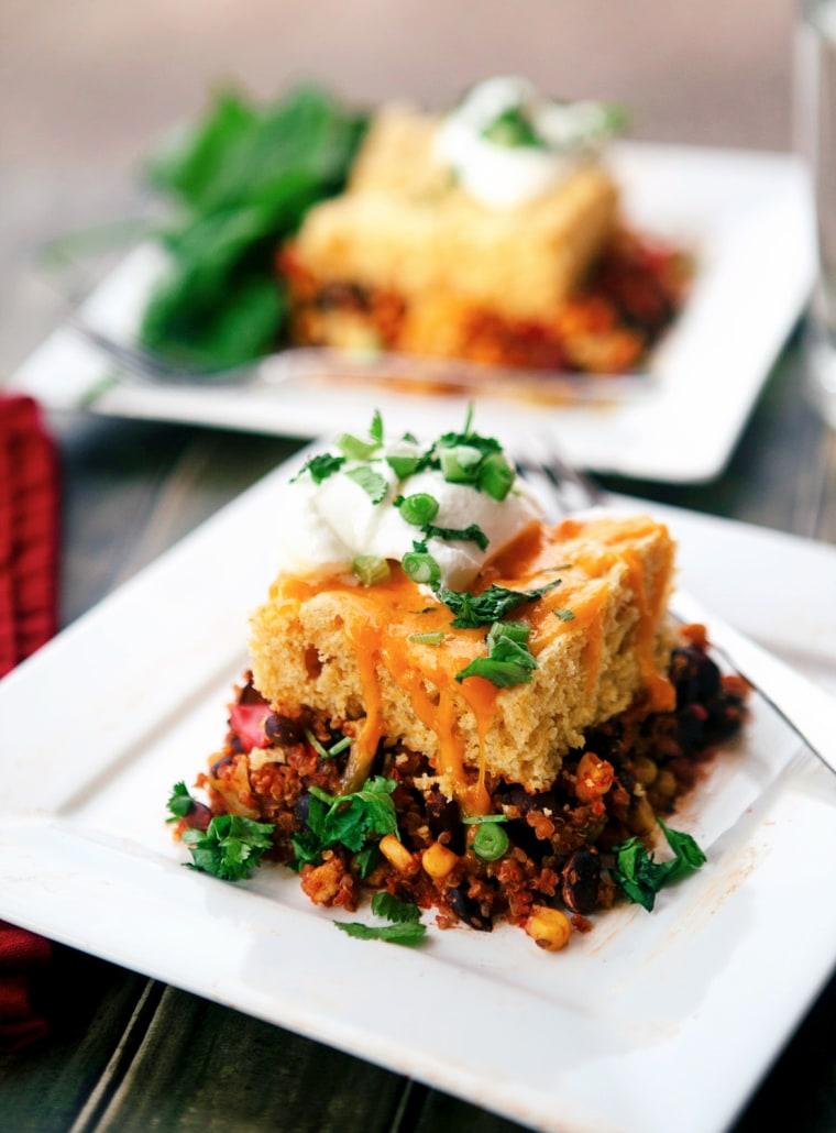 slow-cooker corn enchilada casserole