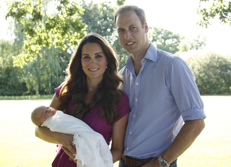 Birth of Prince George of Cambridge