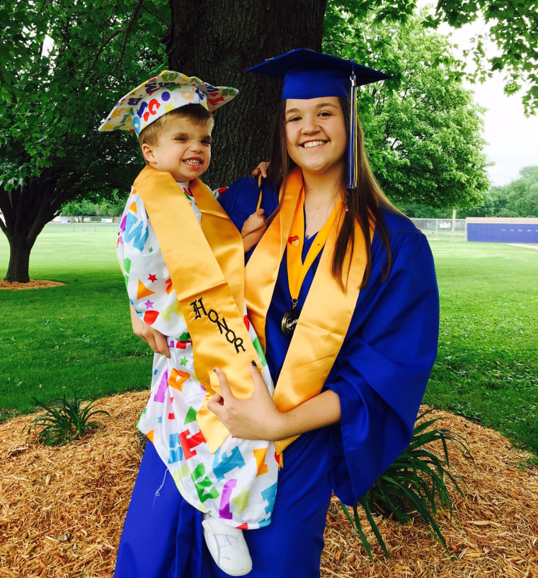 Jordan Planitz has a terminal illness and was given an honorary diploma by Tri-City High School in Buffalo, Illinois