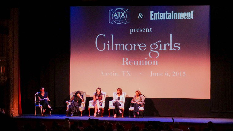 Gilmore Girls reunion panel at the Austin Television Festival.