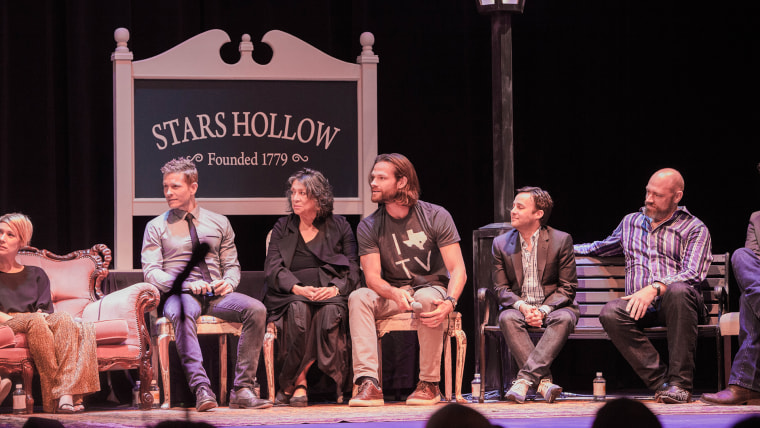 Gilmore Girls reunion panel at the Austin Television Festical.