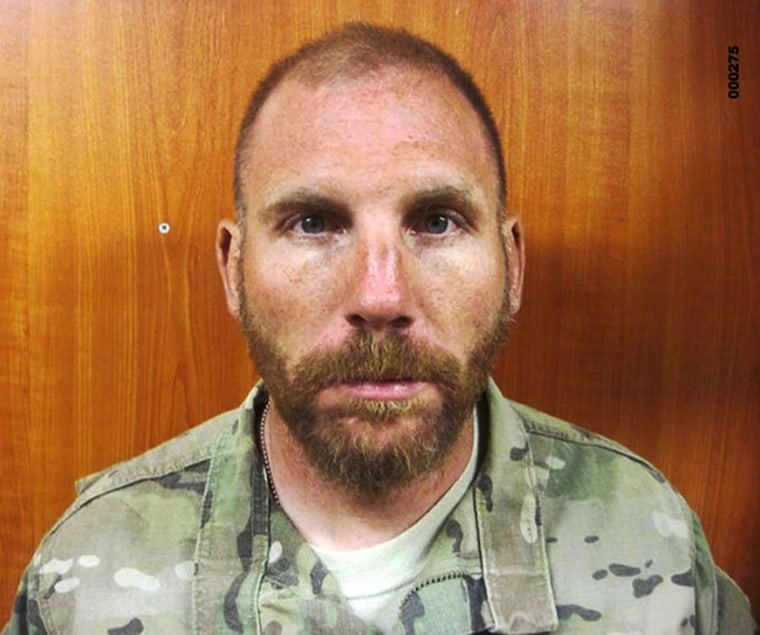 Image: Staff Sgt. Robert Bales in March 2012