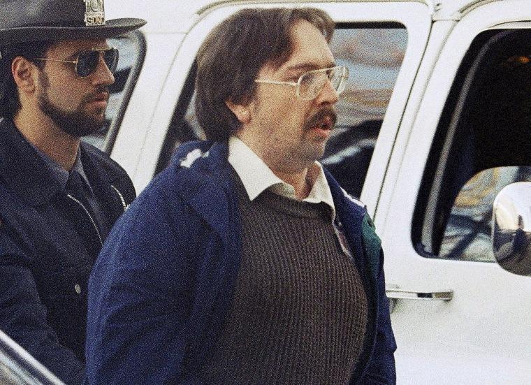 Joel Rifkin before a 1993 court hearing.