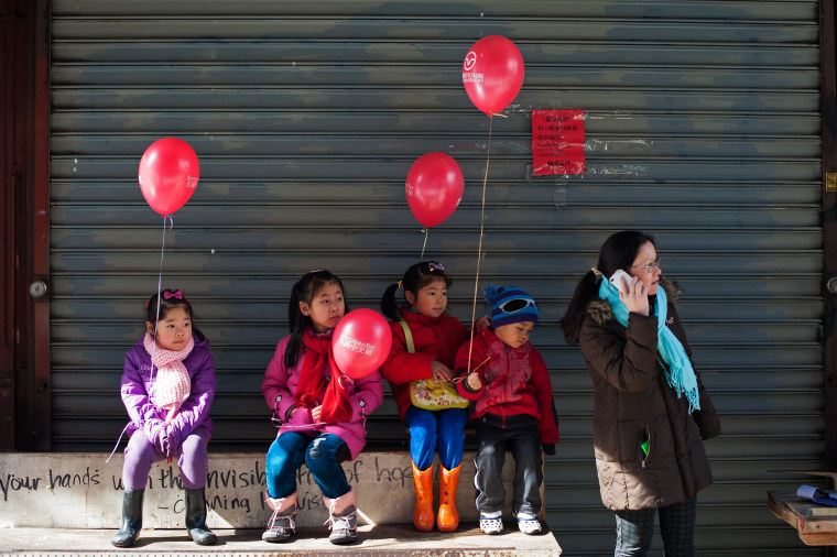 Image: Annual Chinese New Year Parade Held In Manhattan's Chinatown