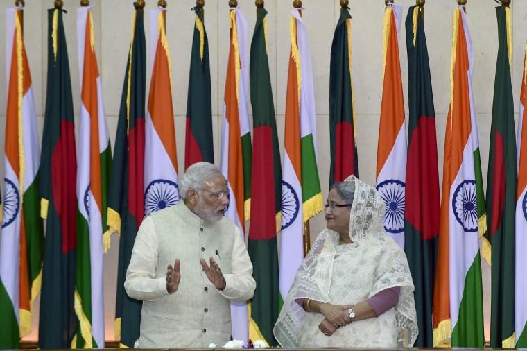 Image: BANGLADESH-INDIA-DIPLOMACY