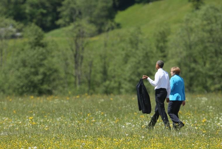 Image: G7 Leaders Meet For Summit At Schloss Elmau