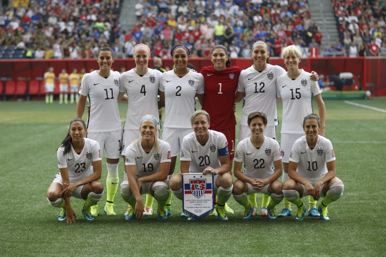 Image: Soccer: Women's World Cup-United States at Australia