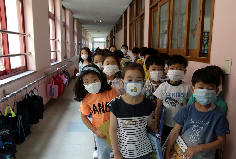 Image: BESTPIX - South Korea Reports Eighth MERS Death