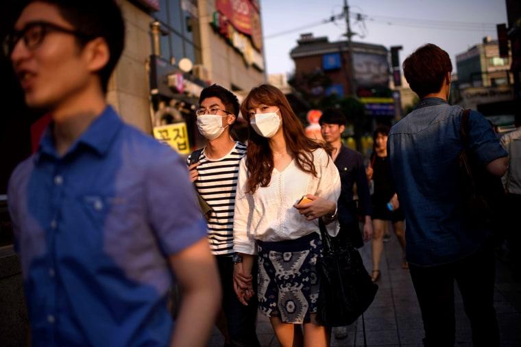 Image: South Korea MERS