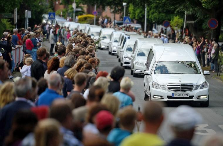 Image: Germany Repatriates Germanwings Crash Victims