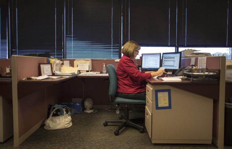 Image: Jill Fulk, customer service representative