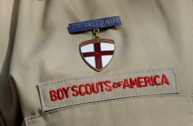 Image: Boy Scouts decal