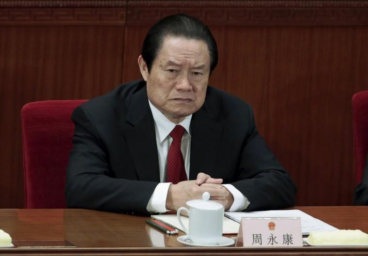 Image: Zhou Yongkang in 2012