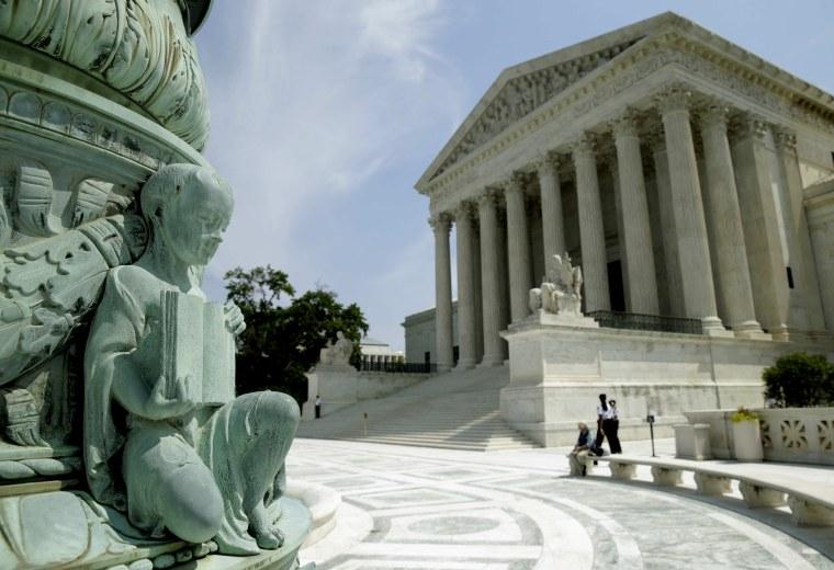 Image: The  U.S. Supreme Court  is seen in Washington
