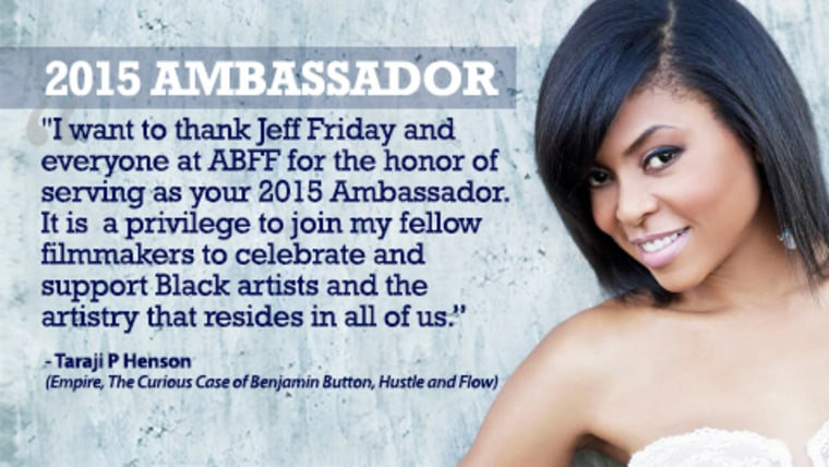 Henson's delight to be chosen as ABFF's Ambassador
