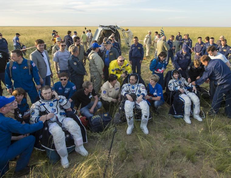 Image: Soyuz landing