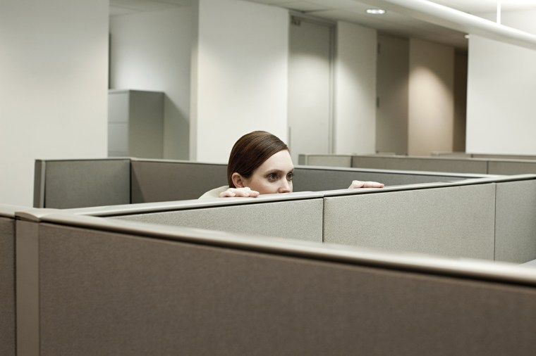 Image: cubicle office