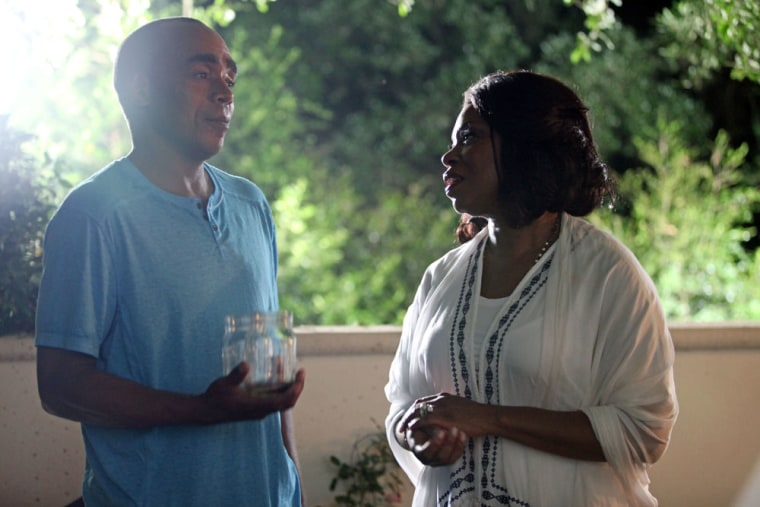 Lorraine Toussaint and company in Runaway Island