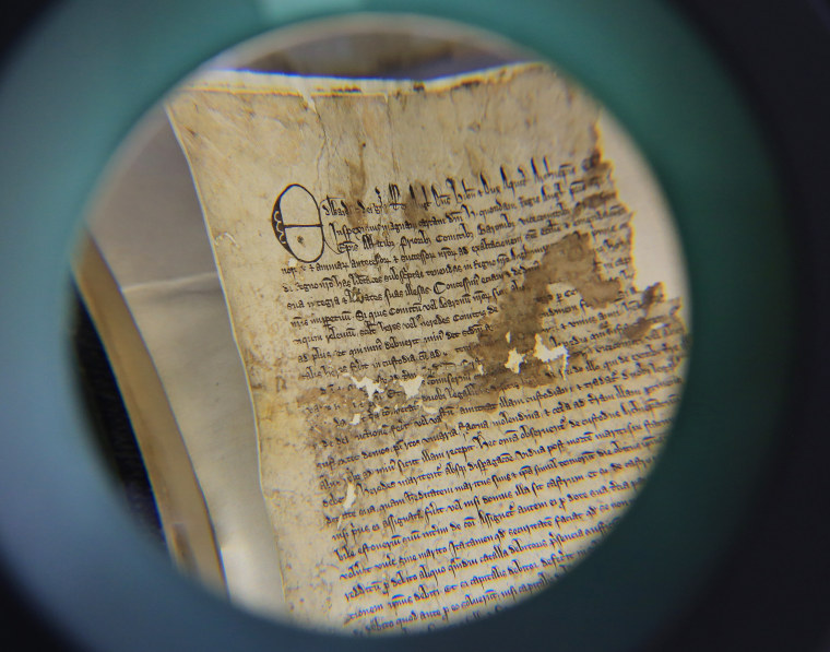 Magna Carta copy found in archives