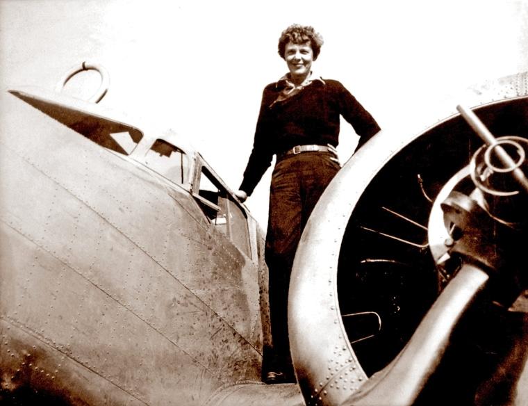 Amelia Earhart May Have Died a Castaway on Uninhabited Island
