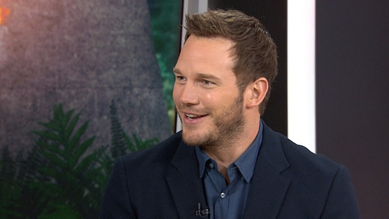 """Chris Pratt talks to TODAY's Carson Daly about loving life and starring in """"Jurassic World"""""""