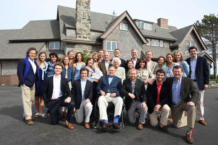 The Bush family, together to celebrate Barbara Bush's 90th birthday