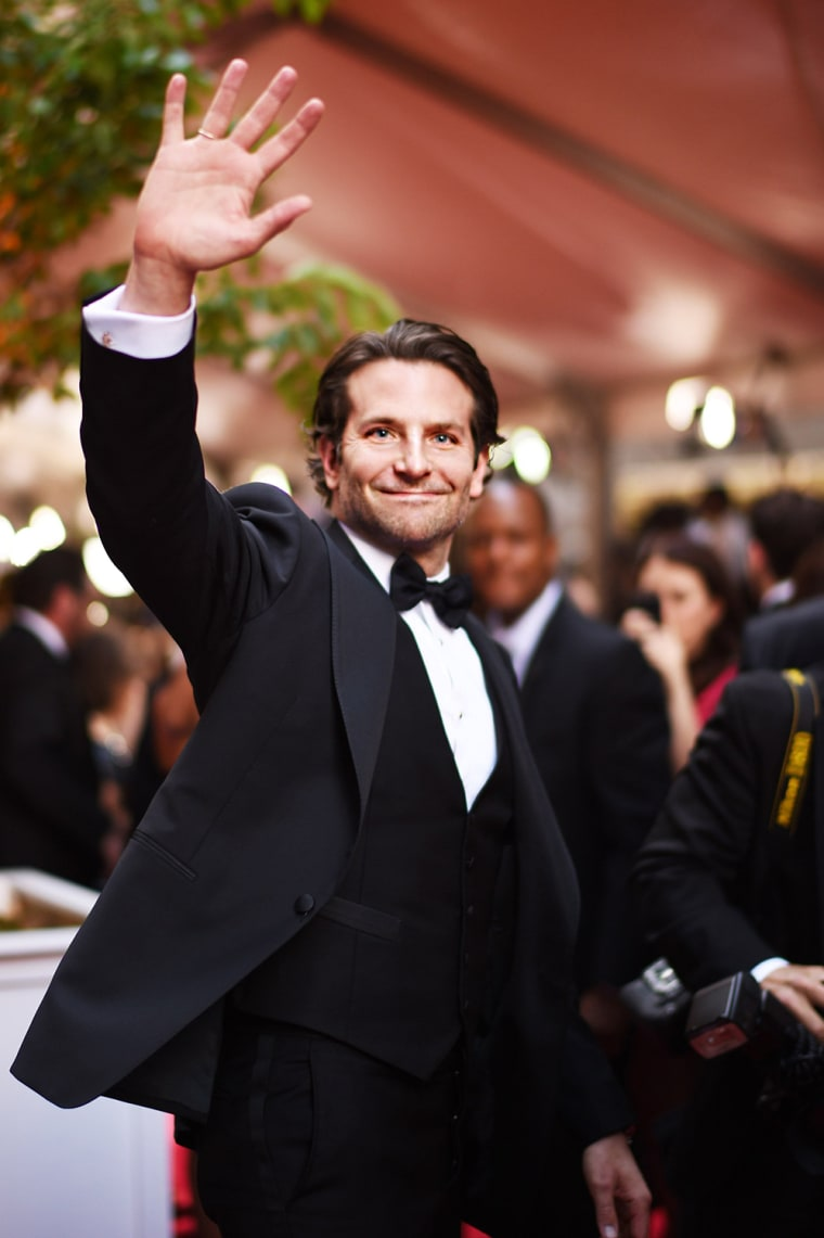 Actor Bradley Cooper attends the 2015 Tony Awards