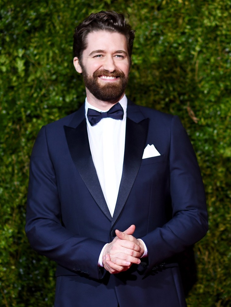 Actor Matthew Morrison attends the 2015 Tony Awards