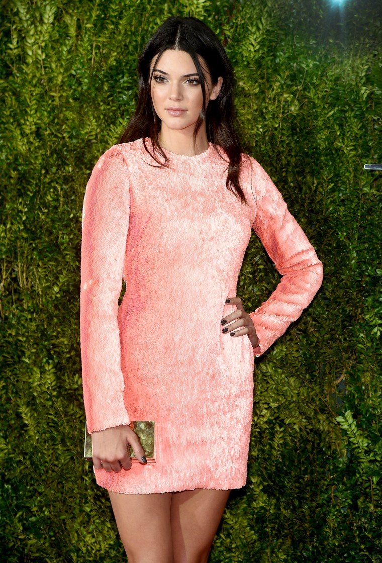 Model Kendall Jenner attends the 2015 Tony Awards