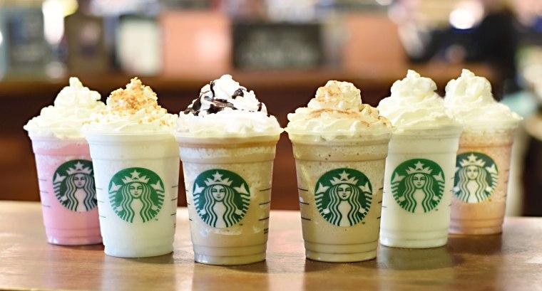 Starbucks' new Frappuccino flavors