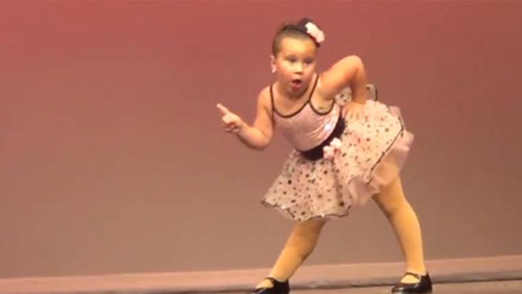 Johanna Colon channeling Aretha Franklin in a dance video that's gone viral on Facebook