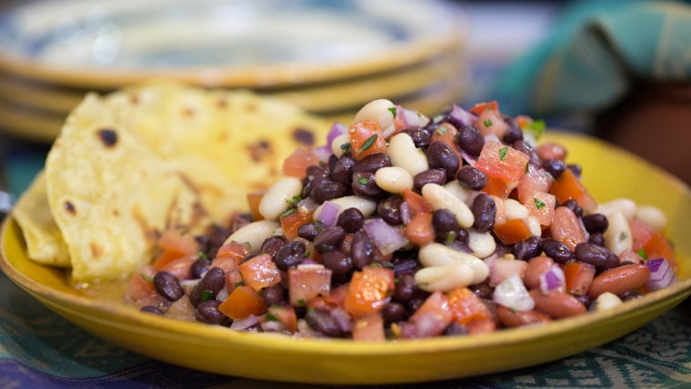Craig Strong's delicious five-ingredient chipotle chicken and bean salad