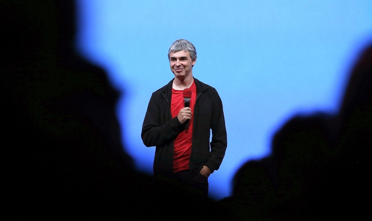 Larry Page, Google co-founder and CEO