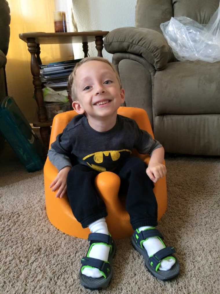 """Logan loves to """"read, learn and explore,"""" according to his mother, Trisha Roninger."""