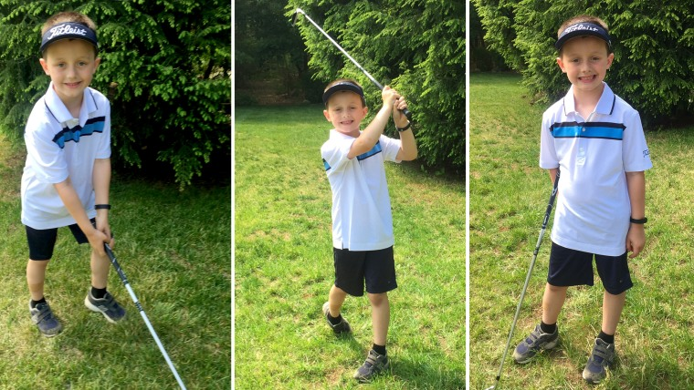 6-year-old Ryan McGuire is going to play 100 holes of golf in one day to raise money for cancer in memory of his friend, Danny Nickerson, 6, who died from cancer in April, 2015