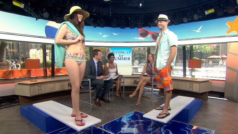 Must-have mint swimsuits