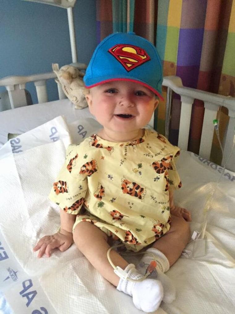 Logan Kaplan was born with severe kidney damage.