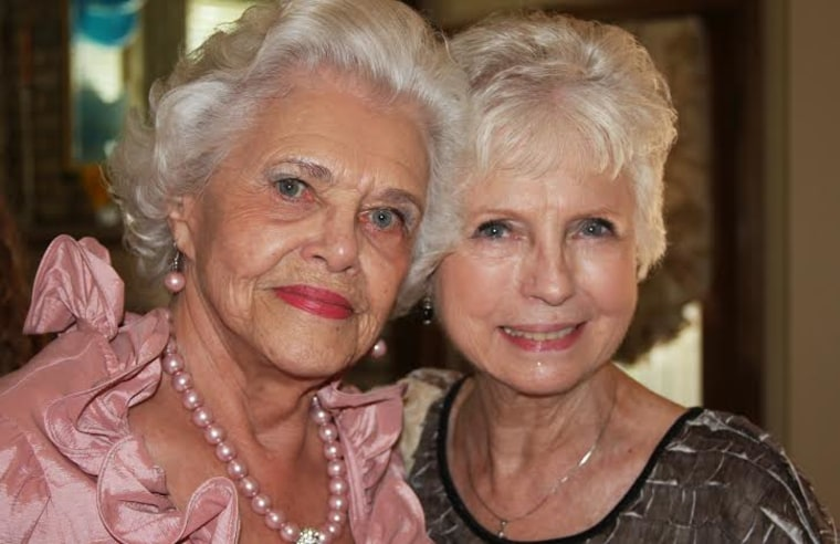 Muriel Clayton and her adopted daughter Mary Smith