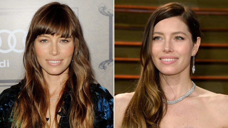 Bangs or no bangs: Celebrity hairstyles