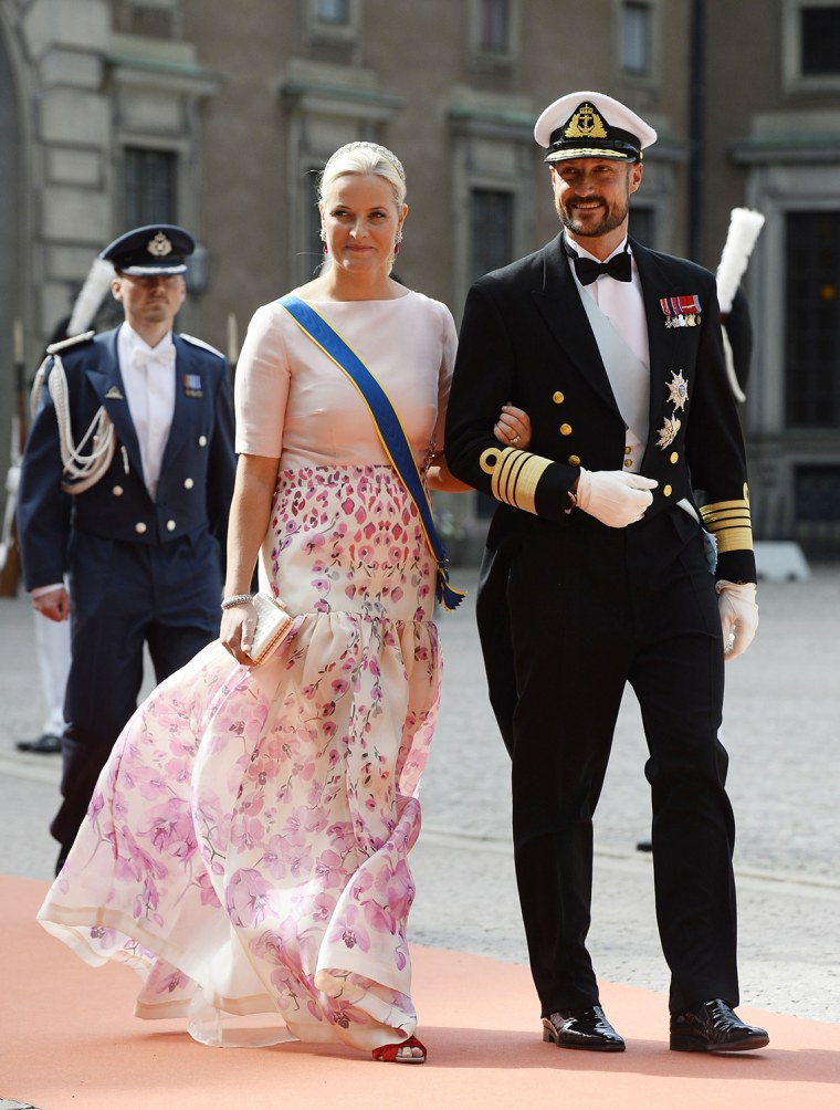 Crown Princess Mette-Marit of Norway and Crown Prince Haakon of Norway