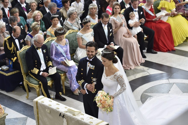 Swedish Prince Carl Philip and Sofia Hellqvist