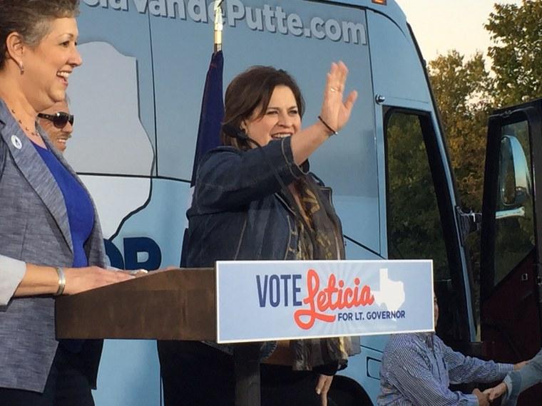 Image: Leticia Van de Putte is running for Texas lieutenant governor.