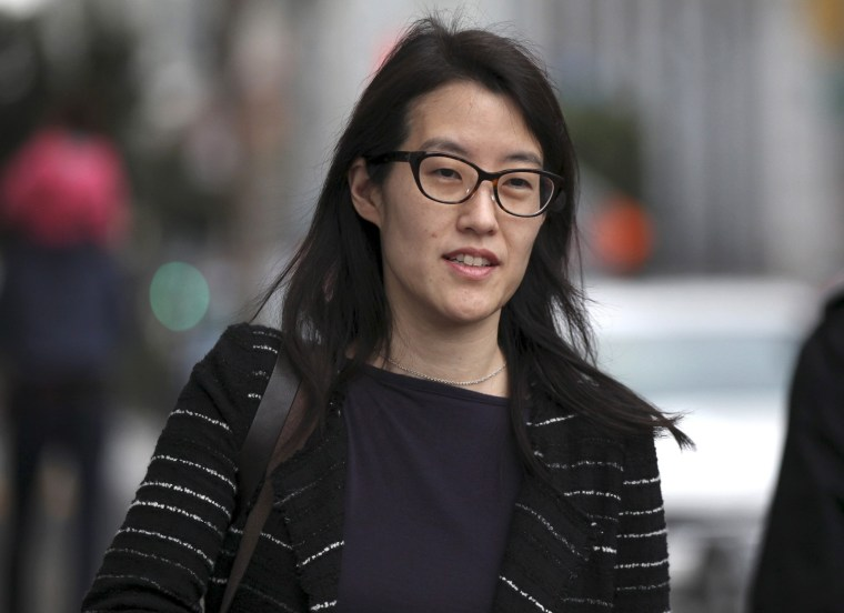 Image: Former Kleiner partner Pao arrives at San Francisco Superior Court in San Francisco
