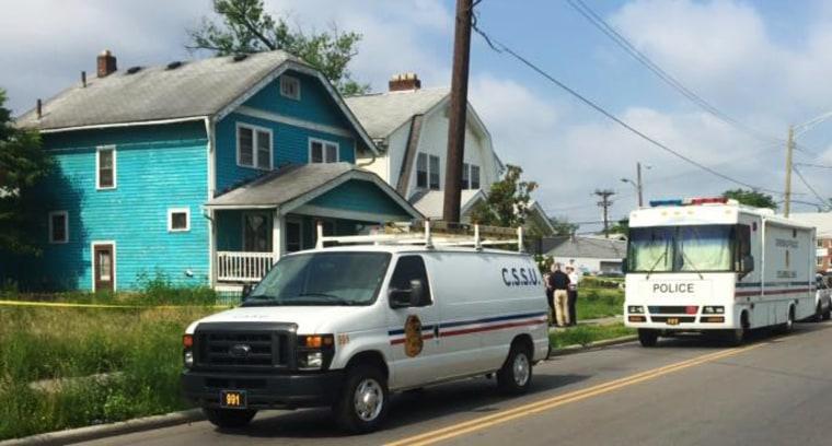 Image : Crime scene in Columbus, OH