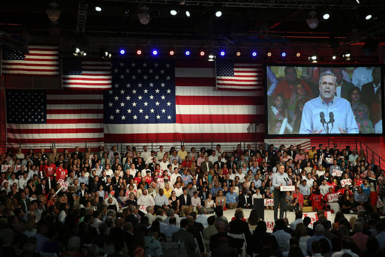 Image: Jeb Bush Announces Candidacy For President