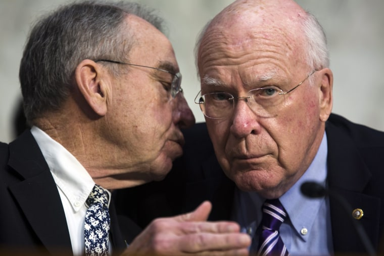 Image: Senators Chuck Grassley and Patrick Leahy