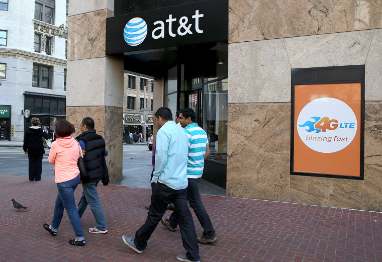 Image: FILE PHOTO: AT&T Fined by FCC